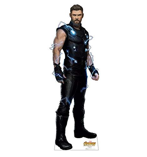 Advanced Graphics Thor Life Size Cardboard Cutout Standup - Marvel's Avengers: Infinity War (2018 Film)
