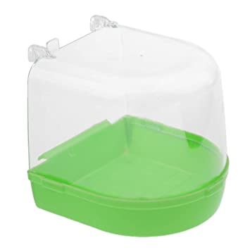 FLAMEER Caja de Jaula Baño Plástico Accesorios Mascotas Ratones ...