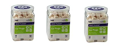 Flents Quiet Please Ear Plugs, HoAPUH 3 Pack (50 Pair)