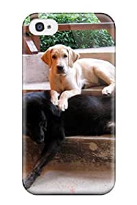 Durable Defender Case For Iphone 4/4s Tpu Cover(dog)