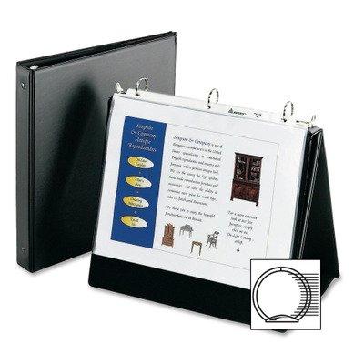 Avery 12880 - Easel Presentation Binder, Vinyl, Black
