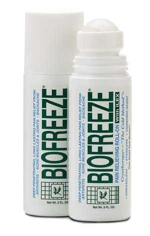 Biofreeze Pain Relieving Roll On, 3-Ounce, Pack of 6