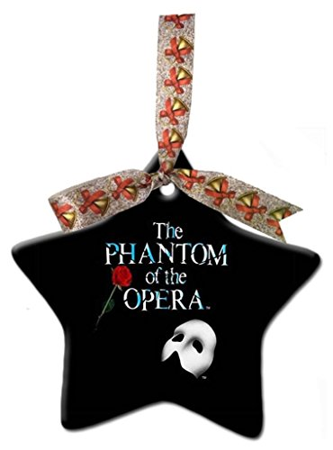 Astilnet Phantom of The Opera Custom Gift Star Christmas Ornaments Ceramic Crafts Home Decoration