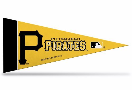 Rico Industries MLB Pittsburgh Pirates Pennant Mini 8 Piece, One Size, Team Colors ()