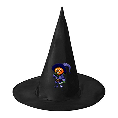Pumpkin Hunter Halloween Black Witch Hats Costume Party Carnivals Cosplay Costume Accessory Cap Toys For Women Men