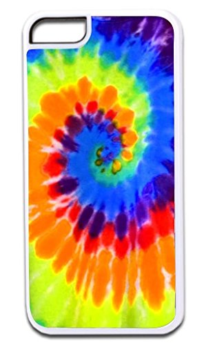 Colorful Dye - Cell World -Hipster Tye Dye print colorful-For Apple iPod Touch 6, 6th Generation, Made and shipped from the USA Style 85