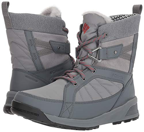 Bottes ti Steel Shorty Gris Grey heat Omni 3d Impermables Rouge Marsala De Randonne Pour Meadows Femmes PqORHPrw