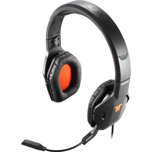 Tritton Trigger Stereo Headset For Xbox 360 . Stereo . Usb . Wired . Over. The. Head . Binaural . Circumaural . 14 Ft Cable