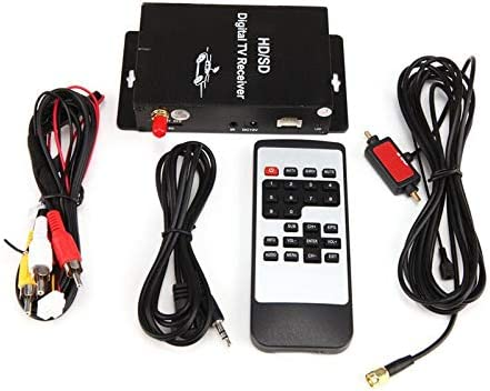 Car Mobile ATSC-MH Digital TV Receiver Set Top Tuner Box With 4 Video For US TV