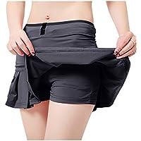 UDIY Women's Running Skorts Casual Gym Tennis Skirt with Shorts