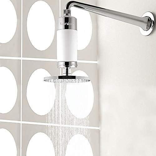Lonior KDF-55 Filtro de ducha de alta salida, purificador de agua ...