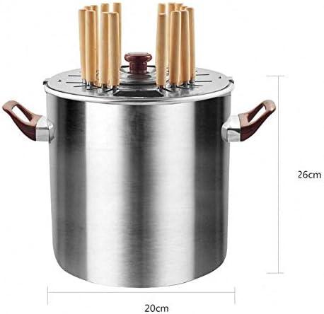 YEDENGPAO 2-in-1 Électrique/Barbecue Au Charbon, Rôtissoire Smokeless Burners BBQ Grill, Four/Pot pour La Maison/Extérieur Utilisez 3-4 Personnes Camping Randonnée