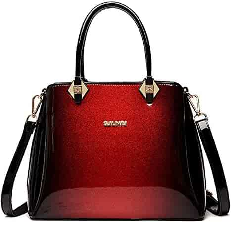 f93feeac27e4 Shopping Reds - Patent Leather - Top-Handle Bags - Handbags ...