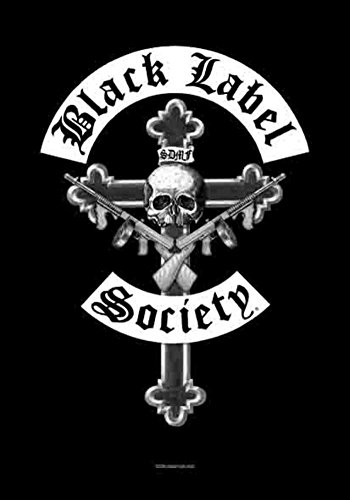 LPGI Black Label Society Crucifix Fabric Poster, 30 by 40-Inch