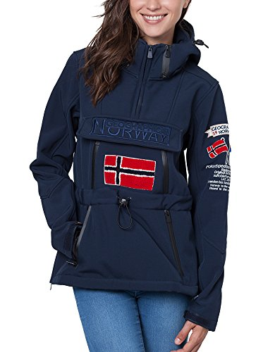 GEOGRAPHICAL NORWAY Softshell tulbeuse Blu Navy XL (FR 4)