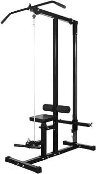 vidaXL Gimnasio en casa sin placas Fitness Gimnasio casa Máquina de entrenamiento: Amazon.es: Bricolaje y herramientas