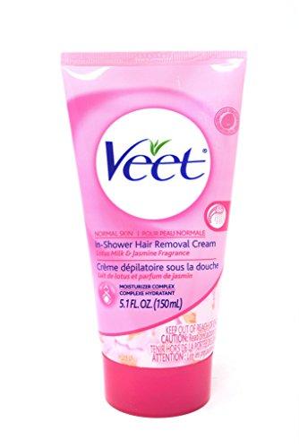 Veet In-Shower Hair Removal Cream For Normal Skin 5.1 fl. oz.