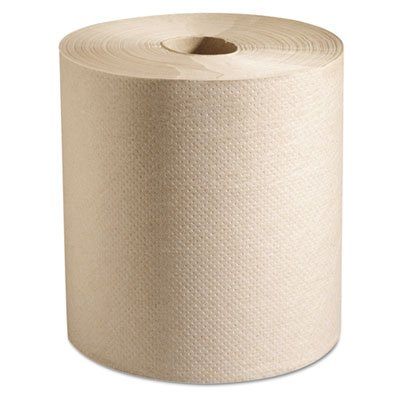 UPC 642125340908, Marcal Paper Mills Hardwound Roll Paper Towels, 7 7/8 x 800 ft, Natural, 6 Rolls/Carton P728N