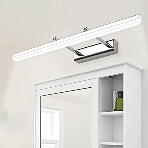 Led-spiegellamp, voorlamp, verstelbare kapcommode, licht, badkamerspiegel, frontlamp, clothing store, montage spiegelkast, LED-wandlamp, lamp voor de spiegel