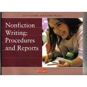 Download Nonfiction Writing: Procedures and Reports pdf epub