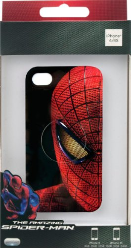 Performance Designed Products IP-1634 Amazing Spider-Man Mask Clip Case for iPhone 4/4S - Face Plate - Retail Packaging - Multi Color