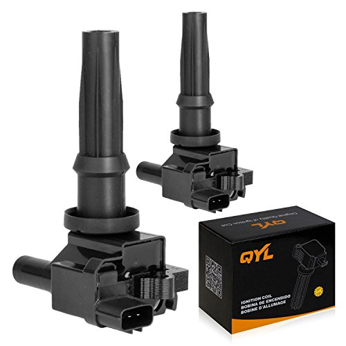 2Pcs Ignition Coil Pack Replacement for Kia Optima Santa Fe Magentis Sonata 2001-2006 2.4L I4 UF-285 C1226 UF285
