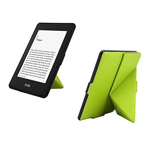 Goaeos Case for Kindle Paperwhite - PU Leather Cover with Au