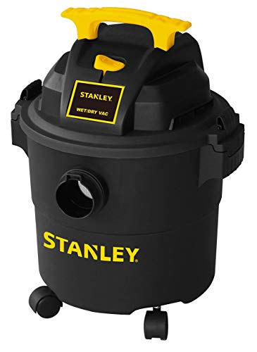 Stanley Wet/Dry Vacuum, 5 Gallon, 4 Horsepower (Renewed)