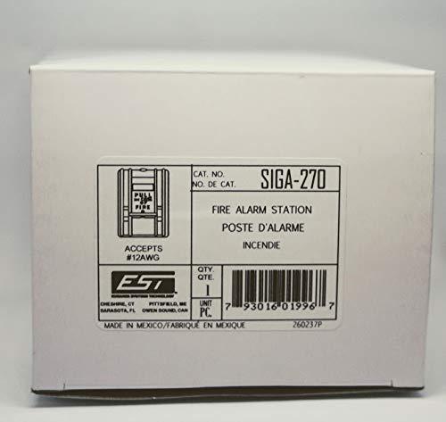 Edwards SIGA-270 Manual Pull Station Single - Action Single Station Pull