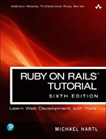 Ruby on Rails Tutorial, 6th Edition Front Cover