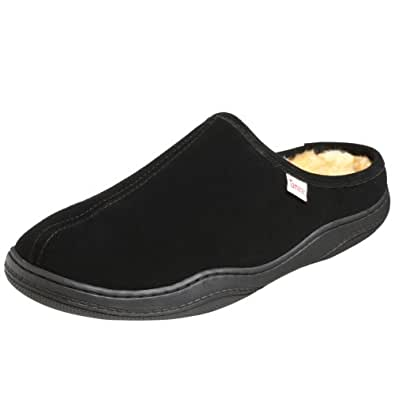 Tamarac by Slippers International Men's Scuffy Clog Slipper Black Size: 7