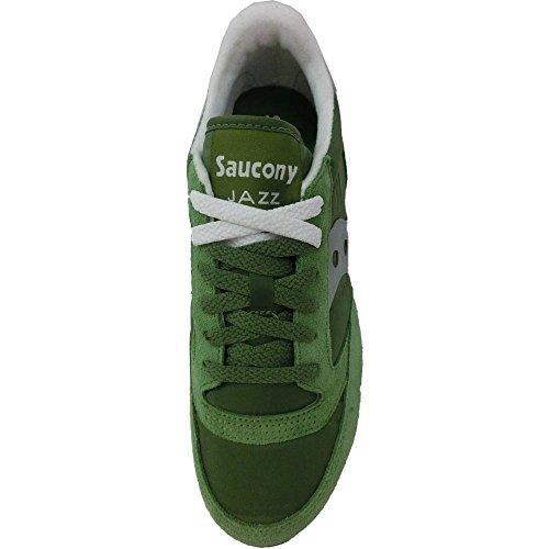 Saucony Jazz Original 2044-311, Scarpe da Ginnastica Uomo green grey