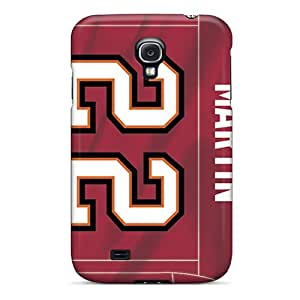 Galaxy S4 Case Cover - Slim Fit Tpu Protector Shock Absorbent Case (tampa Bay Buccaneers)