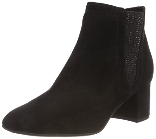31 Mujer 25023 001 Tozzi Negro 2 Marco Black 001 Botas para 2 Chelsea zHZqxWI