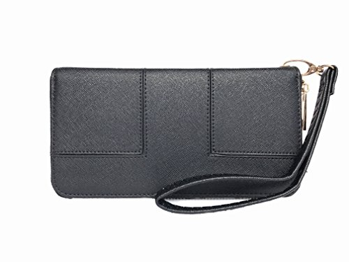 Womens Single Leather Wristlet Organizer product image