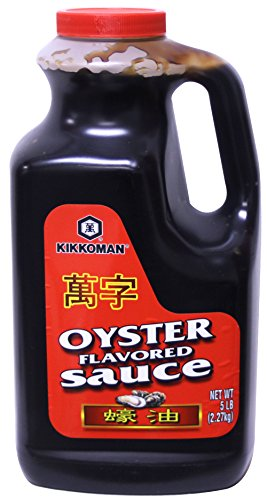 Kikkoman Oyster Flavored Sauce Red Label, 5 Pound