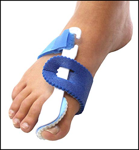 (Set/2) Night Toe Regulator Rigid Splint To Cushion And Aligns The Big Toe by CCV Inc.