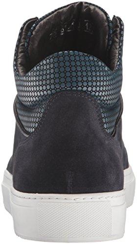 Bacco Bucci Mens Abati Fashion Sneaker Blu