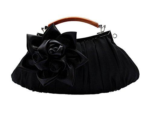 unique noir pour Aronvivi femme noir Noir Pochette 1 taille YqA4HRwB4