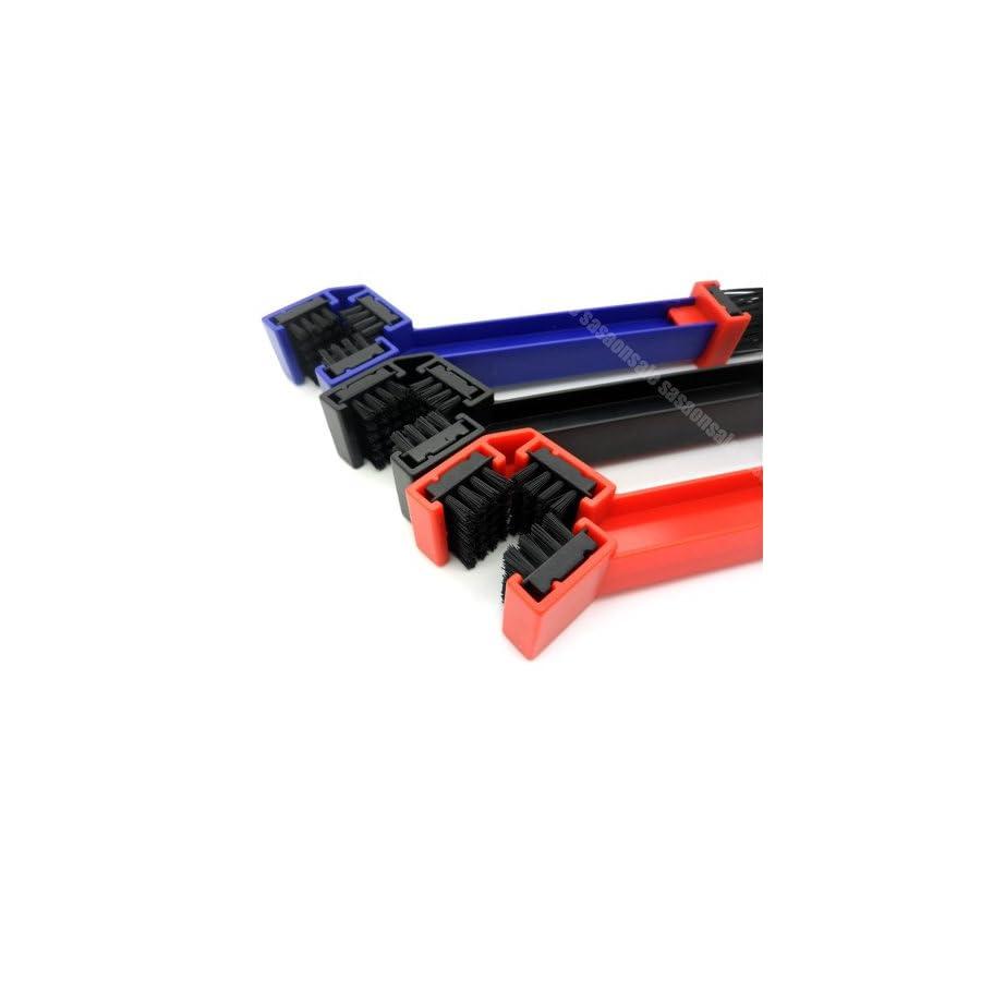 GTSpeed RED Motorcycle Chain Grunge Brush