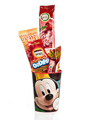 The Chocolate Bar Mishloach Manot - Perfect Purim Shalach Manot for Kids - Purim Gift Basket (Mickey Mouse (Purim Characters)