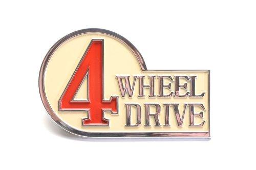 FJ40, BJ Emblem - Toyota Four Wheel Drive - Right Rear - OEM