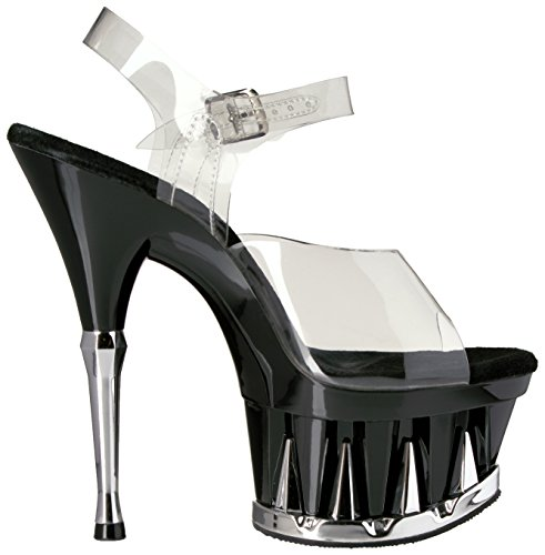 Pleaser - Sandalias mujer, color, talla 40 (7 UK)
