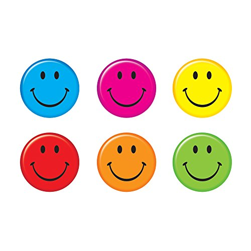 Smiley Face Outs (TREND enterprises, Inc. Smiley Faces Classic Accents Variety Pack, 36 ct)