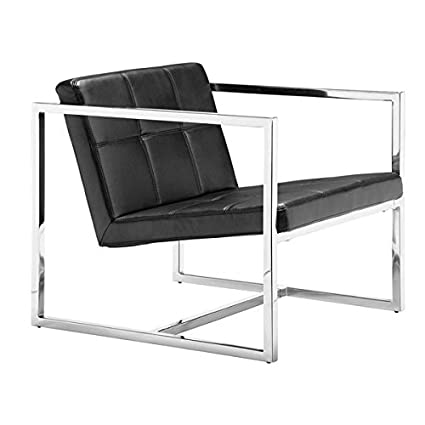 Zuo Modern Carbon Chair, Black