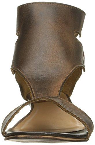 Diba Femmes Kite Queue Coin Sandale Châtaigne