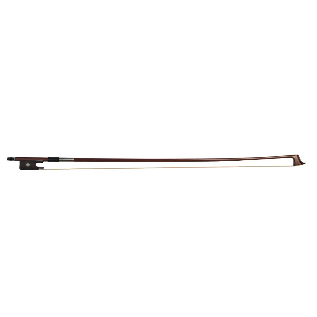 B Blesiya Brazilwood Horse Hair Student Beginner Cello Bow - 4/4 3/4 1/2 1/4 1/8 Size - as described, 1-4