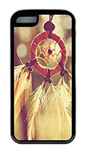 Beauty Net Wind Chimes Lovely Mobile Phone Protection Shell For iPhone 5c Cases - Unique Cool Black Soft Edge Case
