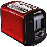 Moulinex LT261D Subito - Tostadora, color rojo metalizado