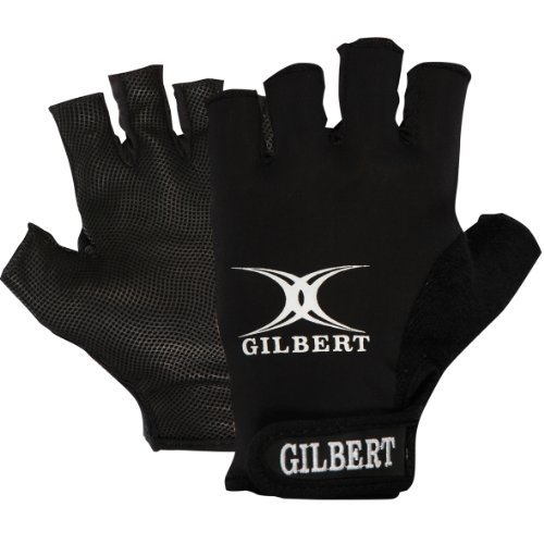 Men's Synergie Rugby Gloves Black X-Small